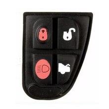 Замена 4 кнопки резиновая прокладка для Jaguar X F XJ XK Тип дистанционного брелока