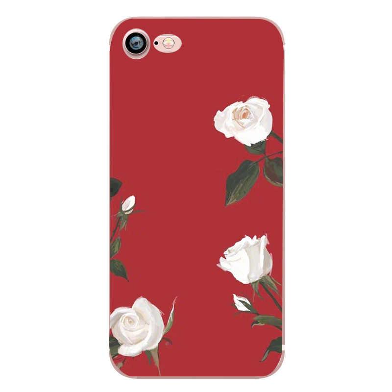 Cho iPhone 8 Plus Ốp Lưng Sang Trọng Dành Cho Phái Nữ Silicon Funda Coque Cho Iphone 6 s iPhone X XS 5 5 S 7 Plus 8 Plus 7 8 Trường Hợp Capinha