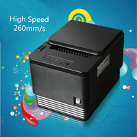 80mm POS receipt printer thermal printer, RS232, USB ,Ethernet 3 in 1