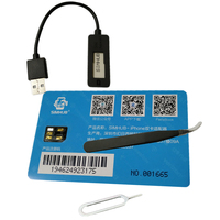 Dual Sim Card Double Adapter Convertor For IPhone 5/6/7Plus/8/XS
