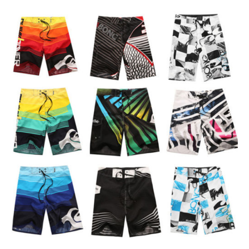 2019 New Summer Swimwear Swimsuit Men's Board   Shorts   Beach   Shorts   Masculina De Marca Gyms Fitness Bodybuilding   Shorts