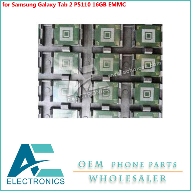 US $7 0 |for Samsung Galaxy Tab 2 P5110 16GB EMMC IC CHIP memory flash NAND  with firmware on motherboard mainboard Circuits Antenna-in Mobile Phone