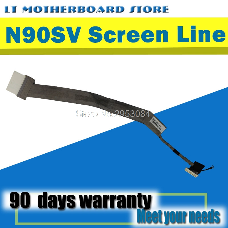 N90SV LVD Cable NEW Original For Asus n90 N90S LED screen line Flexible Flat Cables Internal wiring winding displacemen