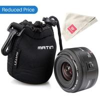 Yongnuo 35mm Lente YN35mm Ulanzi F2 lente Para Canon lente Grande-angular Grande abertura Fixa Auto Focus Lens Lente Ef EOS Camera w saco