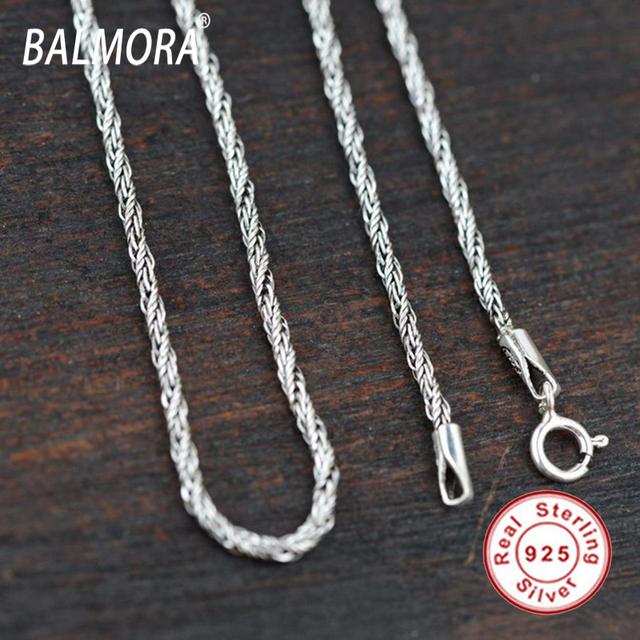 100% real pure pingente de prata esterlina 925 cadeias de jóias de prata para os homens acessórios presentes Bijoux frete grátis collares JLC006