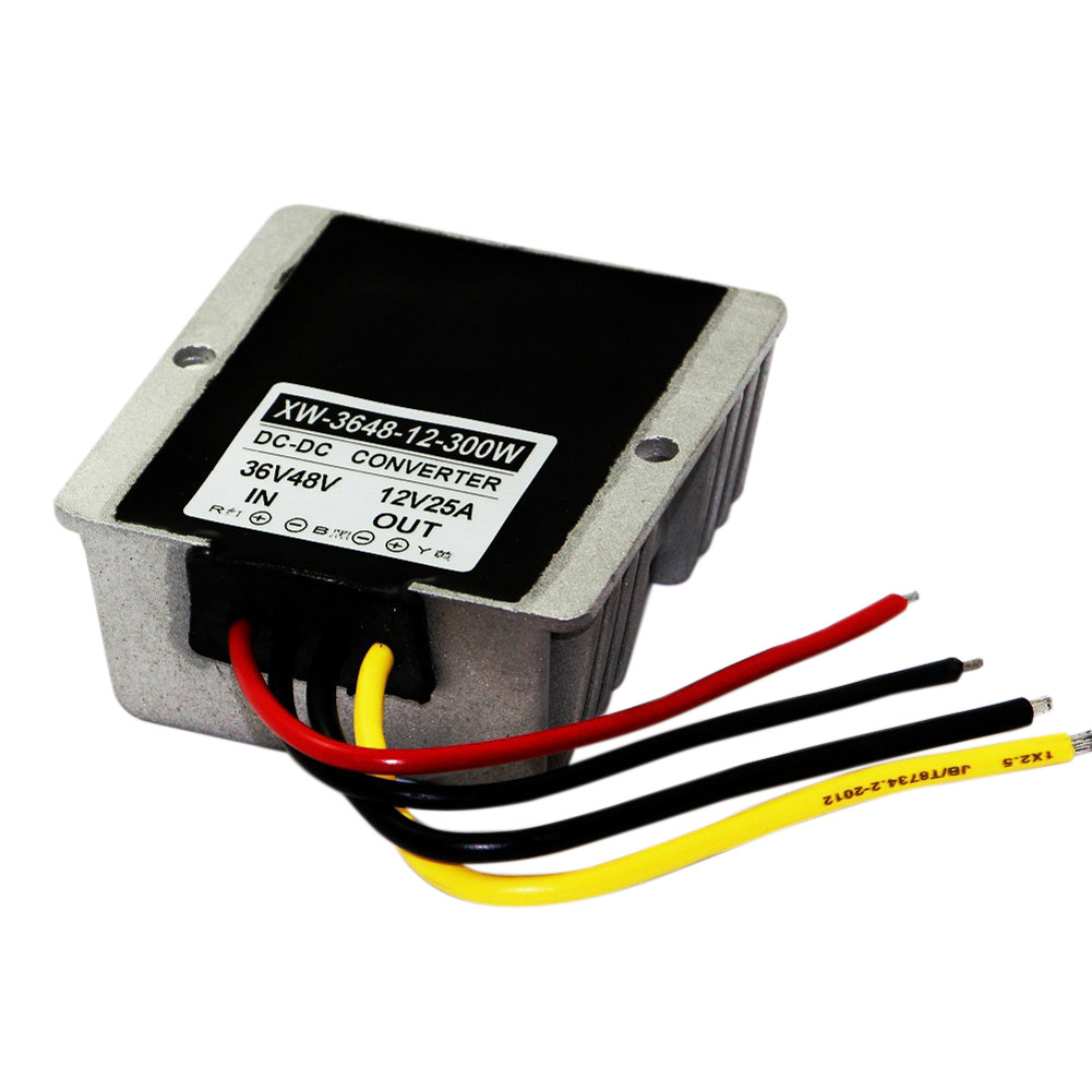 Waterproof dc 36v 48v step down to 12v 25a 300w power for Waterproof dc motor 12v