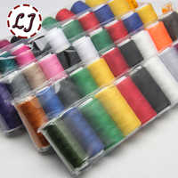 NEW High Quality 10pcs/pack 10 color mixed 200 yards Sewing Thread polyester Thread Strong Durable Sewing Threads For Handmade