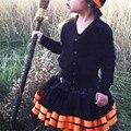 Best Seller drop shipping kids clothes girls clothes autumn Girls Kids Petticoat Halloween Pettiskirt Bowknot Skirt Tutu Feb709