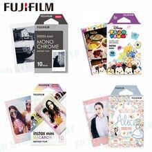 Fujifilm 10 листов Микки Alice Винни Мультфильм мгновение фотобумага Фильм для Fuji Instax Mini 8 9 70 7 s 50 s 50i 90 25 поделиться SP-1