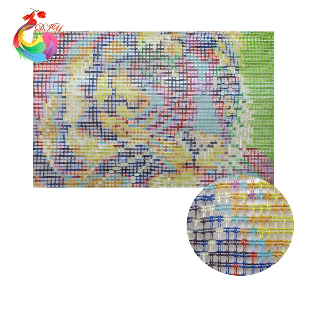 embroidery DIY carpet and rugs tractor DIY Unfinished Crocheting ... for Diy Carpet Yarn  56mzq