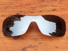 Chrome Silver Mirror Polarized Replacement Lenses For Antix Sunglasses Frame 100% UVA & UVB Protection