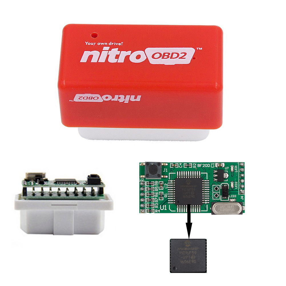 Image 3 - 2 Layer Drive Nitro OBD2 ECO Chip Tuning Box Power Upgrade Economizer