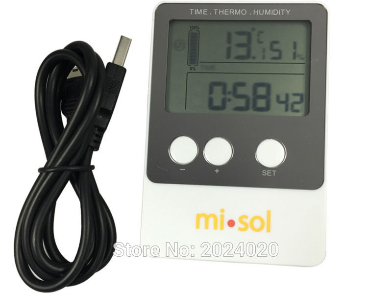 Recording Thermometers Data Logger : Data logger temperature humidity usb datalogger