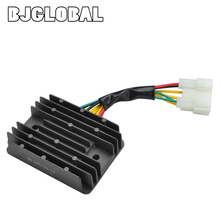 Voltage Motorcycle Boat Regulator Rectifier 12V For Kawasaki ZX-9R ZX900B 1 2 Prairie 400 KVF400 Scooter Moped Charger Rectifier motorcycle voltage regulator rectifier for kawasaki ninja zx 12r ninja zx 9r