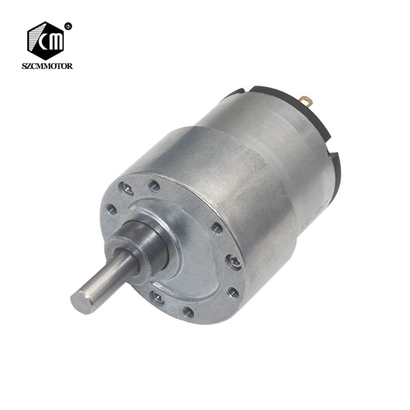 37mm Diameter Gearbox Eccentric Shaft Gear Motor 12v 24v DC Geared Motors Electric lock Autonatic Dustbin Valve Gear Motors