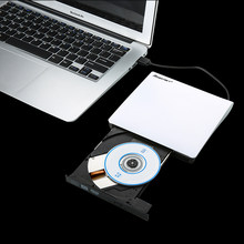 New External USB3.0 DVD+/-R 8X , DVD-RW 4X , CD-R 24X , DVD8X , DVD-R Burner read Writer POP-UP for Laptop Mobile External Drive(China)