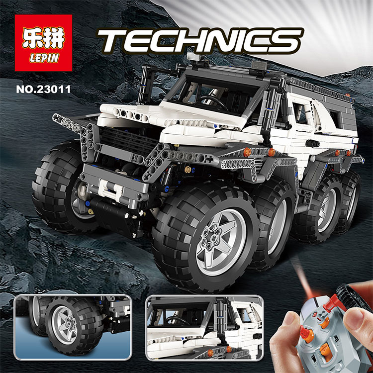 LEPIN 23011 2959Pcs Technic Series Off-road vehicle Model Educational Building Kits Block Bricks Toys Compatible legoed 5360 lepin 22001 pirate ship imperial warships model building block briks toys gift 1717pcs compatible legoed 10210