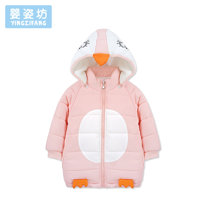 Winter Baby Jacket Coat Cartoon Children'S Down Outerwear Hooded Kids Girls Parka Coats Cute Toddler Costume Outerwear winter baby jackets outerwear casual toddler girls coats cute style cotton thick hooded coat children down outerwear