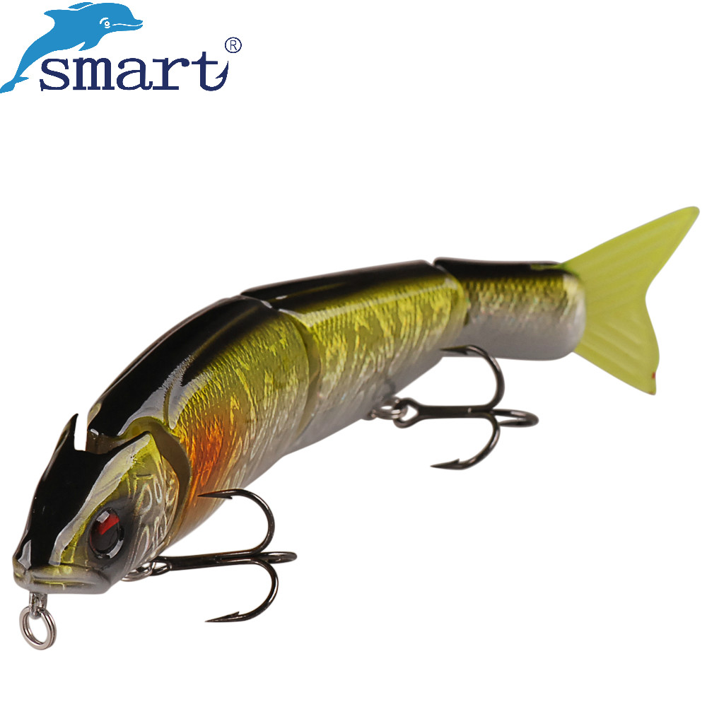 Smart Jointed Fishing Lure 150mm 31g Floating Pencil Cebos Pesca VMC Treble Hooks Carp Bait Artificial Acessorios Para Pescaria dw25 b multie jointed fishing lifelike lure bait 80mm 10g fishing lure with 2 vmc hooks
