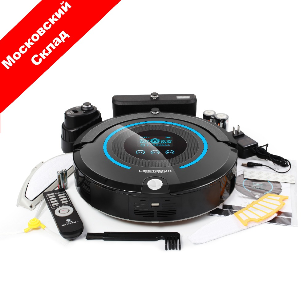 (Ship from RU) Wireless Smart Robot Carpet Vacuum Cleaner A338 for Home (Sweep,Vacuum,Mop,Sterilize),Schedule,Virtual Blocker