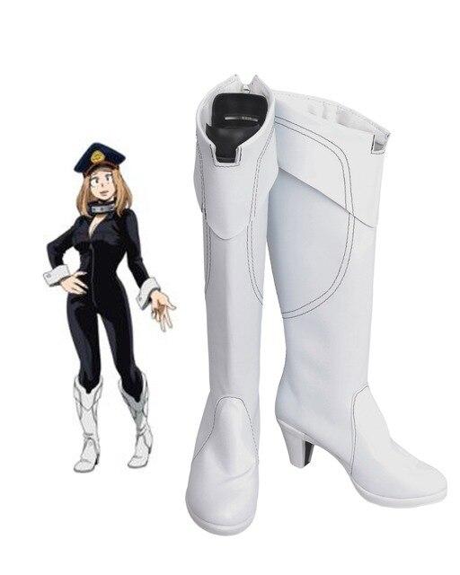 Boku No Hero Academia Camie Utsushimi Cosplay Boots Shoes White My