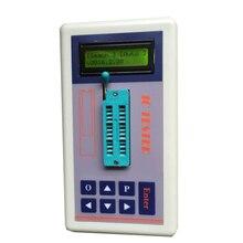 Портативный тестер микросхема IC тестер транзистор тестер онлайн обслуживание Цифровой СВЕТОДИОДНЫЙ ic тестер бесплатная доставка
