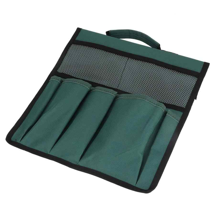 zip lock plastic bags Multifunction Dark Green Portable Garden Tool Pouch Outdoor Pockets Storage Bag   shoes bag travel