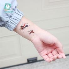 Rocooart 3D Spider Tatoo Scorpion Temporary Tattoo Stickers For Halloween Fake Tattoo Body Art Tatuajes Joke Tatouage Temporaire