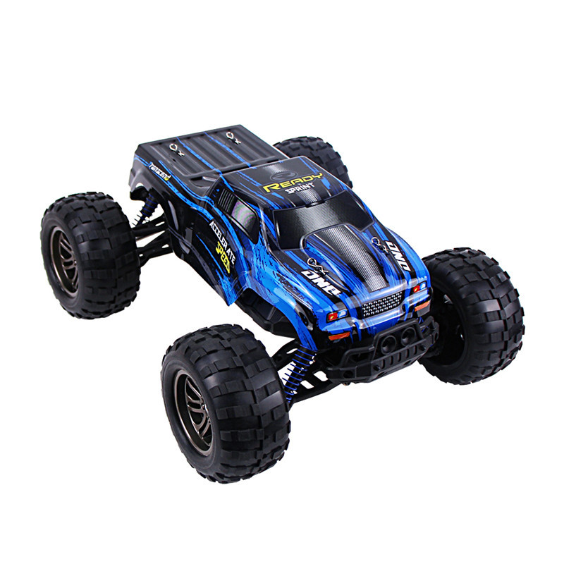 hot sale blue 24g 43kmh 112 full scale high speed fast race cars tonka raceway remote control electric off rc car for child