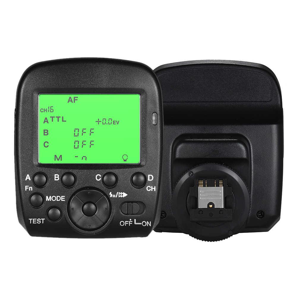 2.4 GHz TTL Wireless Flash Trigger Transmitter HSS 1/8000 s 4 Nhóm 16 Kênh LCD Hiển Thị cho Sony A77II A7RII A58 A99 ILCE600L