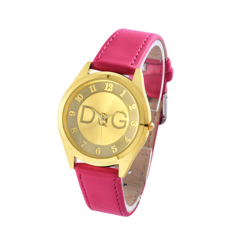 Women Watches New Fashion Luxury Brand Leather Strap Quartz Watch Women Dress Elegant digital Watch Relogio Feminino Clock in Quartz Watches from Watches