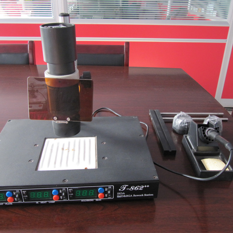 IRDA赤外線bgaリワークマシン、BGA SMD - 溶接機器 - 写真 5