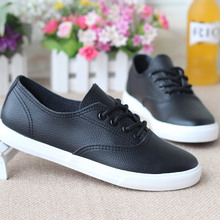 Keyconcept latest help low classic / lace shoes / 2016 Spring / flat white shoes / Korean student shoes / star style women shoes