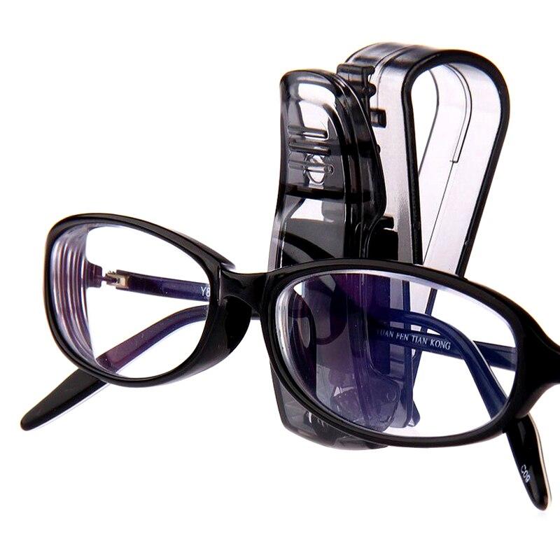 Multi-Function Sunglasses Eyeglasses Glasses Holder Ticket Clip Car Sun Visor Auto Fastener Clip Auto Accessories Cards Fastener
