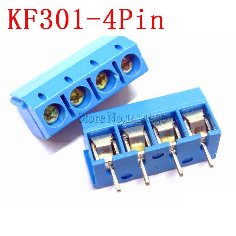 10PCS KF301-3P 5.08mm Blue Connect Terminal Screw Terminal Connector