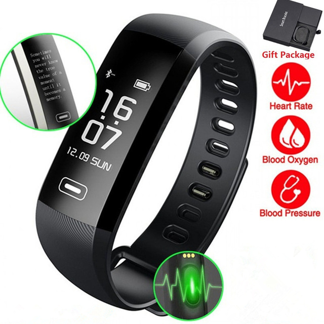 M2 Smart Band Heart rate Blood Pressure Oxygen Oximeter Sport Smart Bracelet For iOS Android Fitness Tracker Smart Watch
