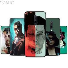 Fight Club Silicone Case for Oneplus 7 7Pro 5T 6 6T Black Soft Case for Oneplus 7 7 Pro TPU Phone Cover