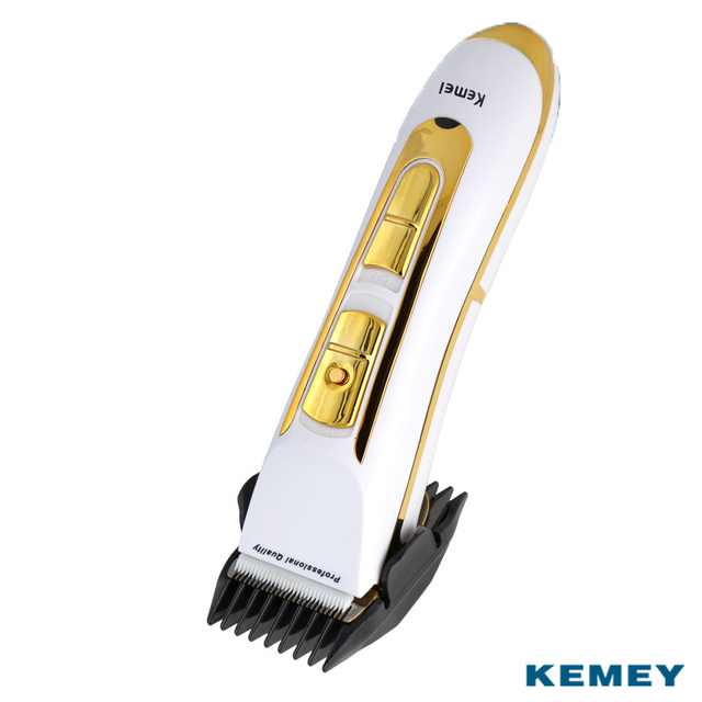 Kemei Electric Hair Clipper Rechargeable Hair Trimmer Haircut Styling Tools