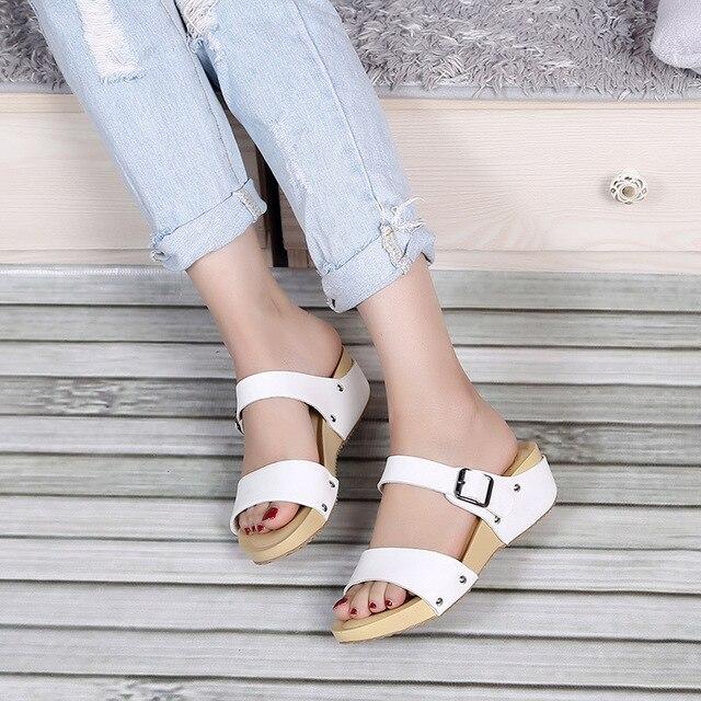 Sandales D'été Ouvert Loisirs Femmes Wish À Bout Plat Chaussures lFcTK1J3
