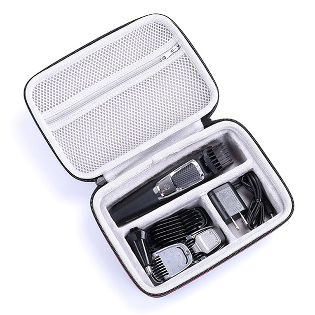 2019 New EVA PU Pouch Hard Travel Cover Bag Case for Philips Norelco Multigroom Series 3000/5000/7000 MG3750 MG5750/49 MG7750/49
