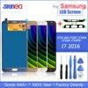 Para Samsung Galaxy J7 2016 pantalla J710 LCD pantalla y pantalla táctil digitalizador montaje SM J710f ajustable con herramientas adhesivas
