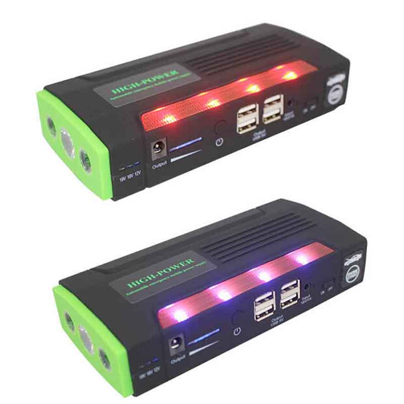 ФОТО Green Super 68800mAh Car Jump Starter Auto Engine EPS Emergency Start Battery Source Laptop Portable Charger Mobile Power Bank