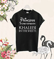 Khaleesi princesa En Las Calles En Las Hojas Camiseta de Juego De Tronos