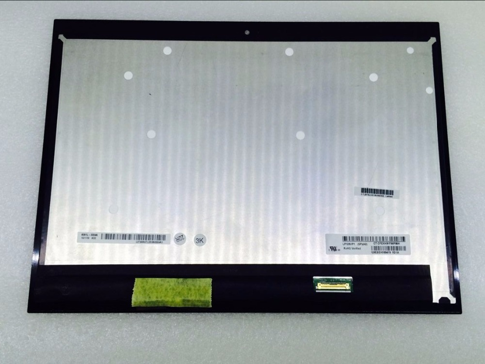 12 pouces LP120UP1 SP A5 LCD écran tactile numériseur assemblée pour HP Spectre X2 12-AB écran tactile LP120UP1-SPA5 FHD 1920*1080