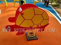 Top Quality Plastic Children Playground Kids Rocking Horse HZ 61116D