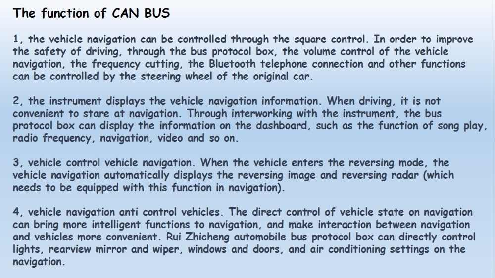 CAN BUS DECODER Only for Hyundai Kia please confirm with customer service  staff before order
