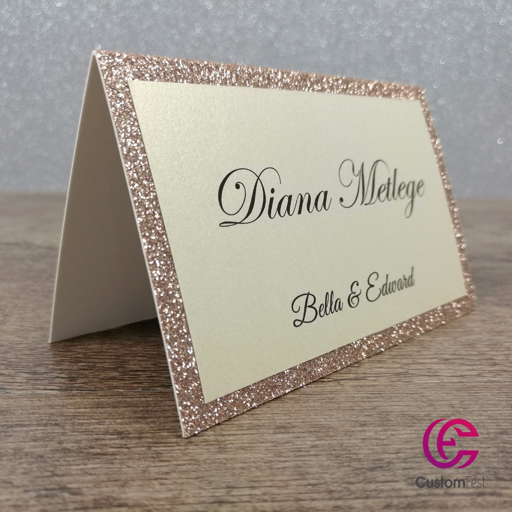 30pcs lot personalized place card name card for party and for Personalized wedding place cards