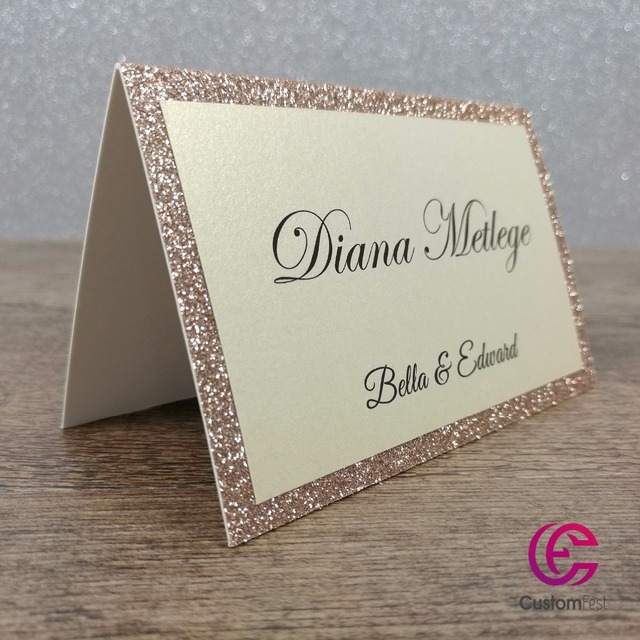30pcs lot personalized place card name card for party and wedding