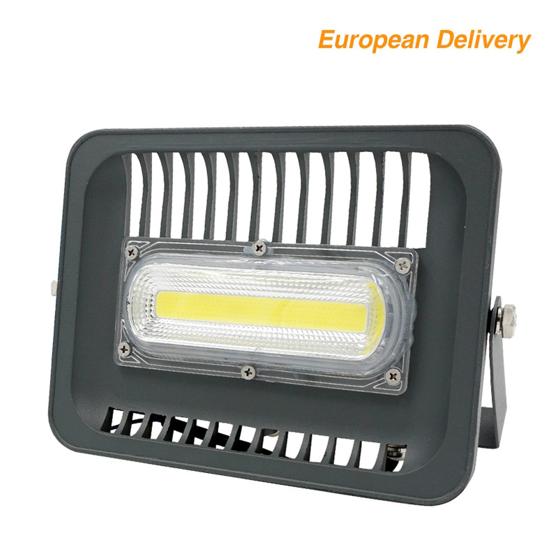 LED Floodlight 30W 50W 100W Waterproof Outdoor Lighting IP65 AC230V LED Reflector Spotlight For Garden Square Ship From RU CN