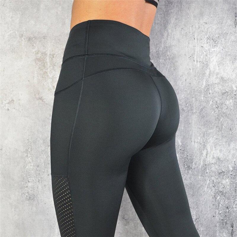 Ladies Yoga Pants Sport Leggings Health club Tights Excessive Waist Leggins Health Leggings For Ladies Ropa Deportiva Mujer Health club Leggings